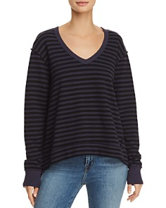 Wilt - Asymmetric Striped Tee