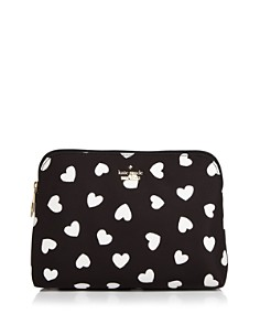 kate spade new york - Watson Heart Briley Small Cosmetic Case