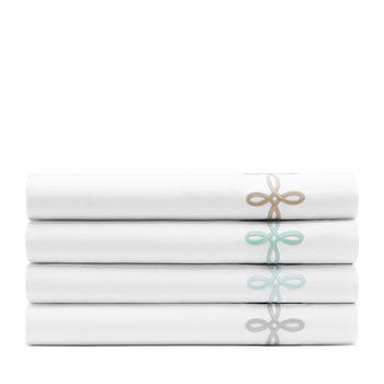 Matouk - Gordian Knot Percale Flat Sheet, Full/Queen