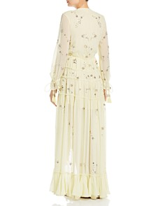 Rococo Sand - Sequin-Star High/Low Maxi Dress