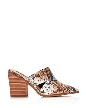AQUA - Women's Sage High-Heel Mules - 100% Exclusive