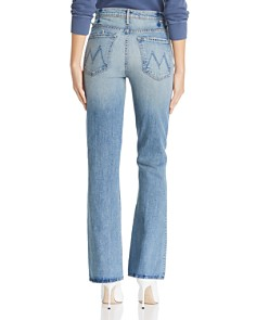 MOTHER - Desperado High-Rise Bootcut Jeans in Secret Sister
