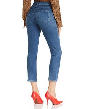J Brand - Ruby High Rise Crop Slim Jeans in Catch Destruct