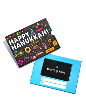 Bloomingdale's - Happy Hanukkah Gift Cards