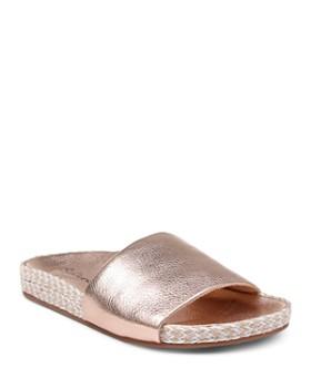 ccc2308412b Splendid - Women s Sanford Metallic Slide Sandals ...