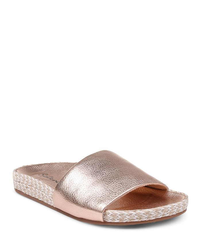 Splendid - Women's Sanford Metallic Slide Sandals
