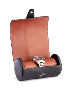 ROYCE New York - Leather Double Watch Travel Roll