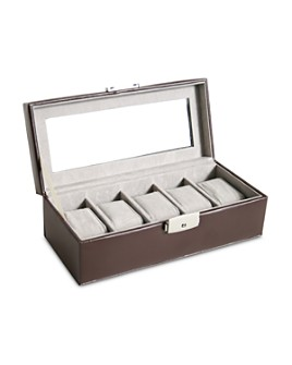 ROYCE New York - Leather Watch Box Display Case