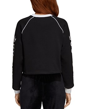 adidas Originals - Trefoil Cropped Sweatshirt