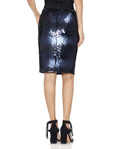 VINCE CAMUTO - Ombre Sequin Pencil Skirt