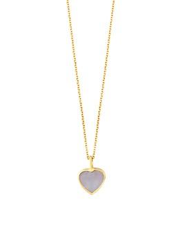 "TOUS - 18K Yellow Gold XXS Heart Pendant Necklace, 17.75"""