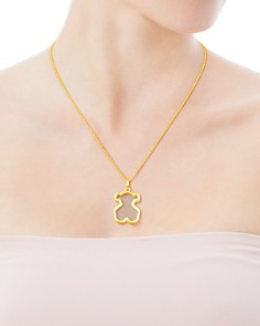 TOUS - Galaxy Mother-Of-Pearl Bear Pendant