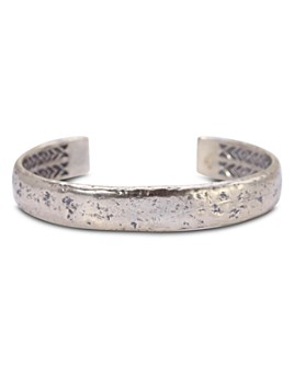 John Varvatos Collection - Sterling Silver Medium Distressed Cuff