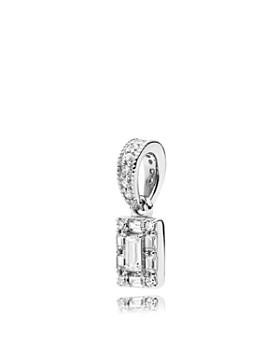 PANDORA - Sterling Silver & Cubic Zirconia Luminous Ice Charm