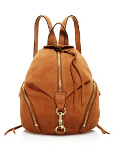 Rebecca Minkoff - Julian Medium Nubuck Leather Backpack
