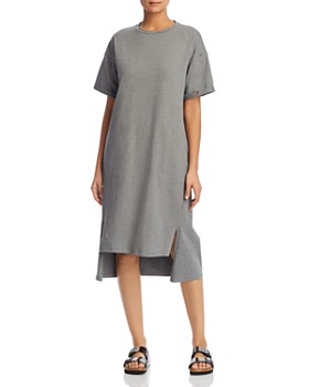Eileen Fisher Petites - Heathered High/Low Dress