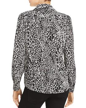 3345f67917728 ... FRAME - Animal Print Silk Blouse