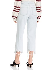 DL1961 - Hepburn Wide-Leg Cropped Jeans in Palermo