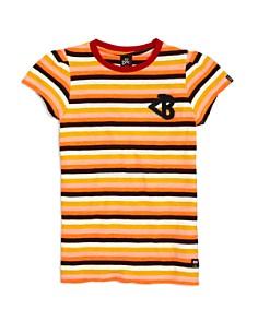 Scotch R'Belle - Girls' Striped Short Sleeve Tee - Little Kid, Big Kid