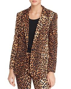 Lucy Paris - Nahla Leopard Print Blazer