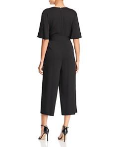 Le Gali - Marina Cropped Faux Wrap Jumpsuit - 100% Exclusive