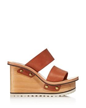 Chloé - Women's Valentine Platform Wedge Sandals