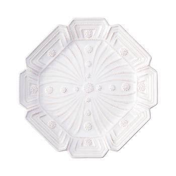Juliska - Jardins du Monde Whitewash Heligan Dessert/Salad Plate