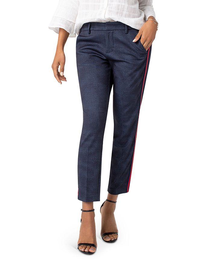 Liverpool - Kelsey Tuxedo Stripe Slim Ankle Pants