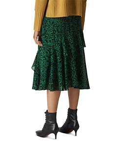 Whistles - Jungle Cat Printed Skirt