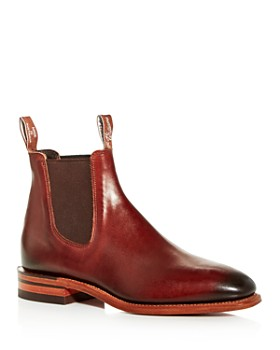 R.M. Williams - Men's Chinchilla Leather Chelsea Boots