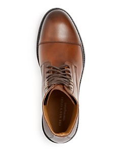 The Men's Store at Bloomingdale's - Men's Livorno Leather Cap-Toe Boots - 100% Exclusive