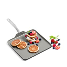 "GreenPan - Chatham 11"" Ceramic Nonstick Square Griddle"