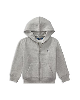 Ralph Lauren - Boys' Fleece Zip-Up Hoodie - Little Kid