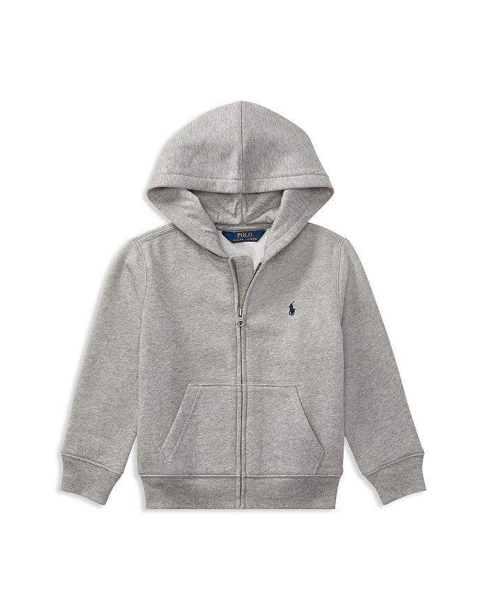 Ralph Lauren - Boys' Fleece Zip-Up Hoodie - Little Kid