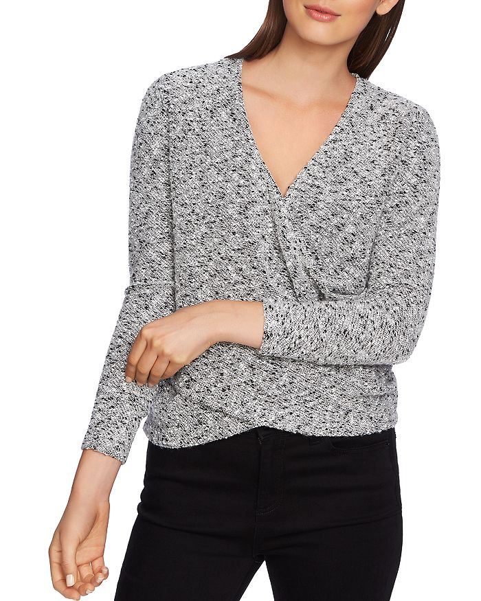 1.STATE - Bouclé Crossover Top