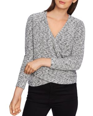 Image of 1.state Boucle Crossover Top