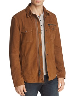 John Varvatos Star USA - Camel Shilo Suede Jacket - 100% Exclusive