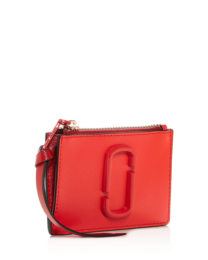 9872670cb3f8 MARC JACOBS Top Zip Leather Multi Card Case | Bloomingdale's