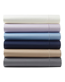 Hudson Park Collection - 500TC Pima Sateen Iron Free Sheets - 100% Exclusive