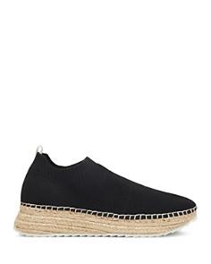 Marc Fisher LTD. - Women's Jae Knit Slip-On Espadrille Sneakers