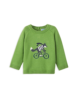 Jacadi Boys Fox  Bicycle Sweater  Baby