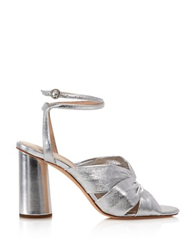 Loeffler Randall - Women's Tatiana Metallic Leather Sandals - 100% Exclusive