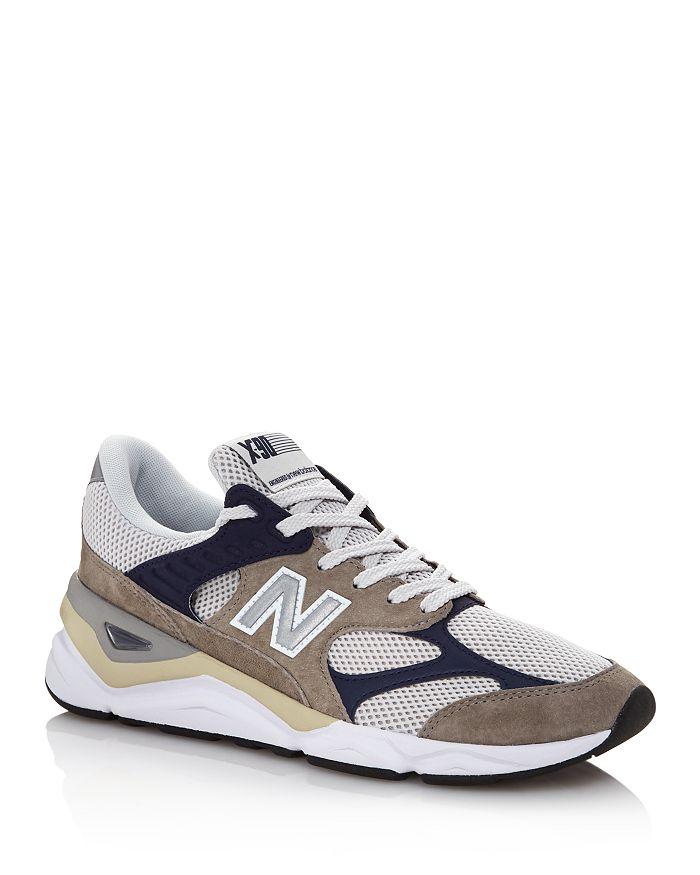 New Balance - Men's X90R Suede Low-Top Sneakers