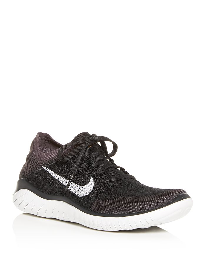 cc37f2c1b Nike Women's Free RN Flyknit 2018 Lace Up Sneakers | Bloomingdale's