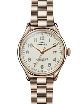 Shinola - The Vinton Gold-Tone Watch, 38mm