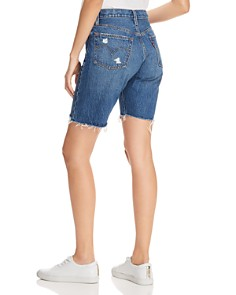 Levi's - 501 Slouch Denim Shorts in Drive Me Crazy