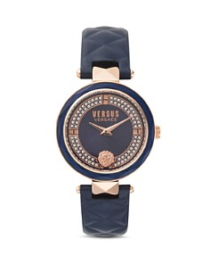 Versus Versace - Covent Garden Crystal Embellished Watch, 36mm