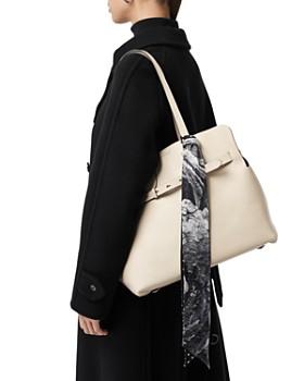 Burberry - Medium Soft Leather Belt Bag