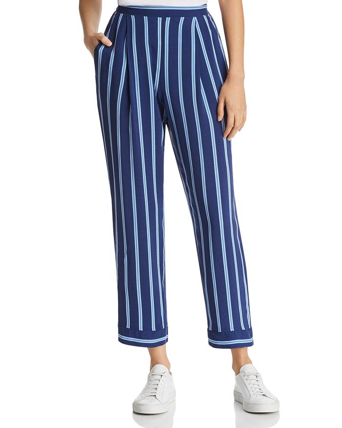 Band of Gypsies - Lauren Cropped Striped Pants