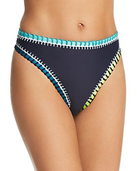 Platinum inspired by Solange Ferrarini - Stitched High-Waist Bikini Bottom - 100% Exclusive